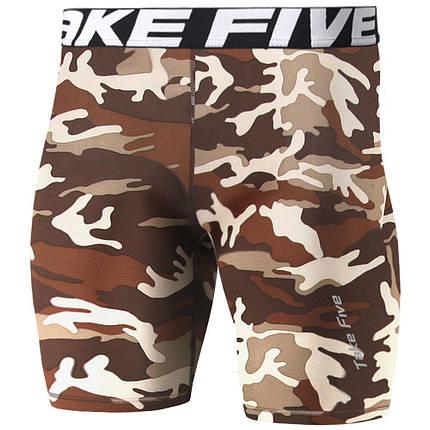 Компрессионные шорты Take Five милитари, фото 2