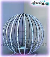 Светодиодная сфера/полусфера AS-3, 720мм, 24 луча, 32пикс/луч