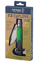 Нож с отвёрткой с пластиковой ручкой Opinel Explore Earth/Green No.12 001899, фото 3