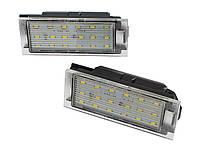 Подсветка номера 265108474R Renault Clio III Master Twingo Megane Laguna LED