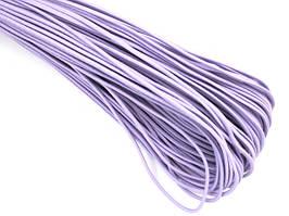 Резинка шляпная 2мм цв фиолетовый (уп 100м) 092 Ф