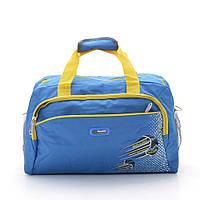 Яркая дорожная сумка для путешествия или командировки. Хорошее качество. Спортивная сумка. Код: КДН1991