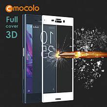 Защитное стекло Mocolo 3D 9H на весь экран для Sony XZ Premium белый