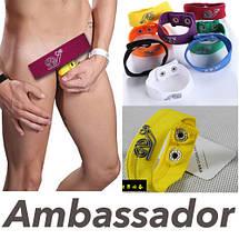 Кольцо на пенис и мошонку из ткани Ambassador, фото 2
