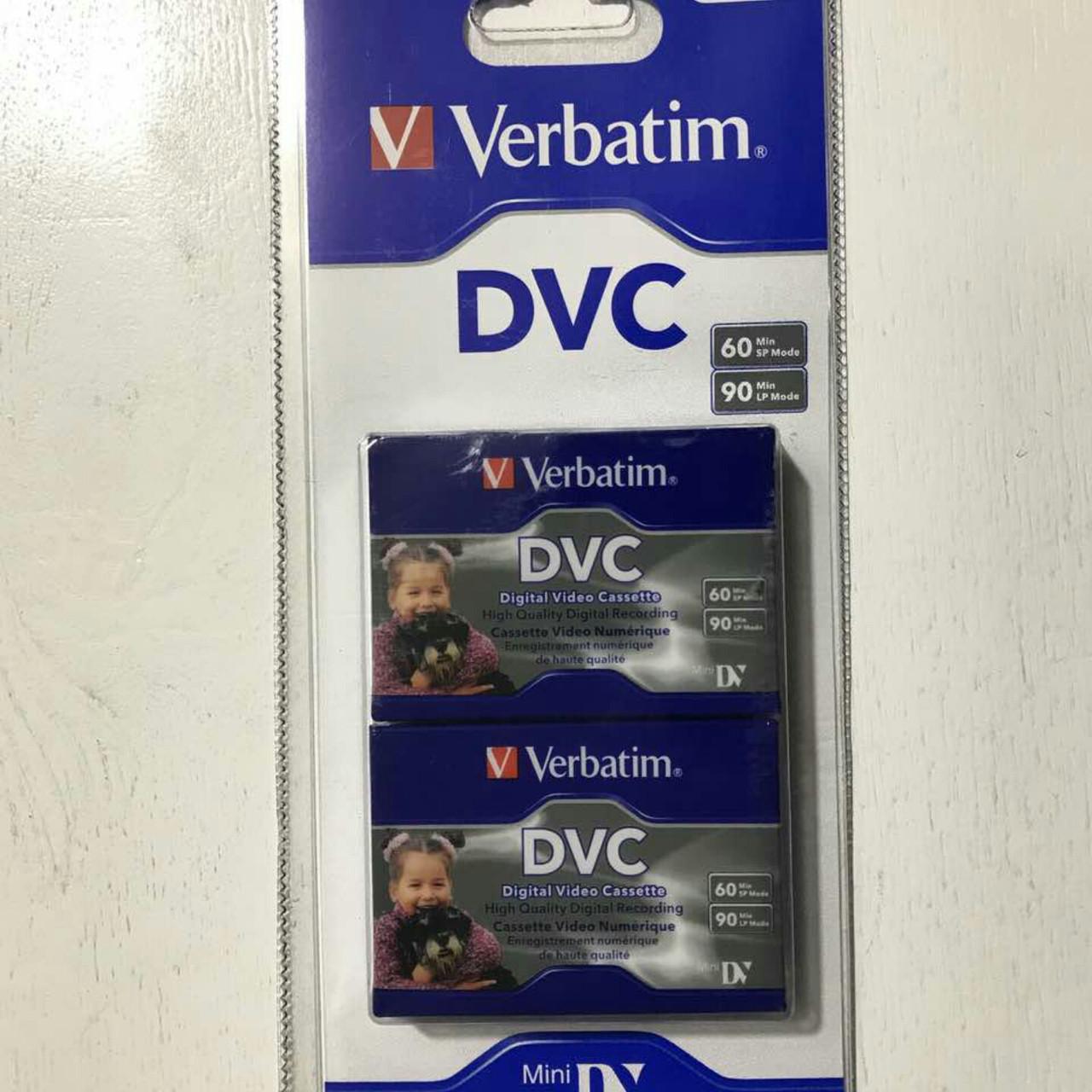Відеокасета MiniDV DVC Verbatim (2шт)