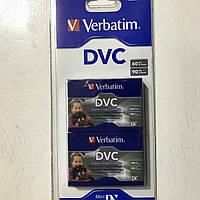 Видеокассета MiniDV Verbatim DVC (2шт)