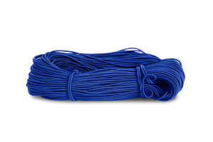 Резинка шляпная 2,5мм цв васильковый (уп 100м) 105 Ф