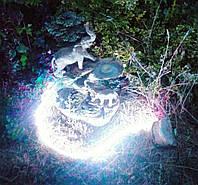 Подсветка фонтана и бассейна герметичная в комплекте с блоком питания 17 см длинной монохромный свет 35-55