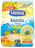 Nestle Каша молочна рисова, кукурудзяна з яблуком, бананом, абрикосом, вітамінізована, з 9 місяців, БЛ, 230г