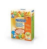 Nestle Каша молочна мультизлакова з яблуком, грушею та абрикосом, вітамінізована, з 9 місяців, БЛ, 200г