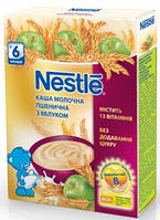 Nestle Каша молочна пшенична з яблуком з 6 місяців, БЛ, 200г