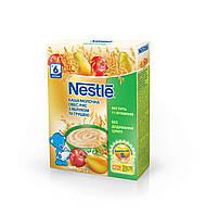 Nestle Каша молочна овес, рис з яблуком та грушею, вітамінізована, з 6 місяців, БЛ, 200г