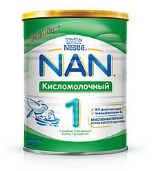 Смесь NAN 1 кисломолочная от 0 до 6 месяцев 400 г