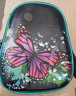 Рюкзак школьный для девочки подростка с бабочкой