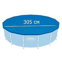 Тент для каркасного бассейна 305 см., Bestway 58036