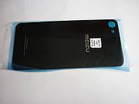 Задняя крышка Meizu U10, черная