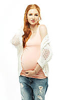 Майка Топ для беременных — Персик Love and Carry Лав энд Керри Loveandcarry, фото 1