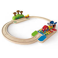 Железная дорога Hape Моя маленькая железная дорога (E3814)