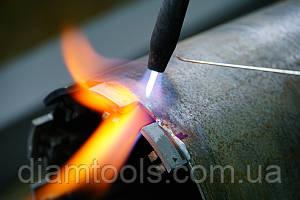 Реставрация алмазных коронок Ø 57 методом напайки сегмента САМС 057 450-5 DBD 057 RS5H