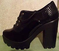 Ботинки женские на платформе, фото 1