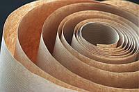 Крафт коричневый, 50 г/м, каландрированный в полоску, 100% целлюлоза (гладкий) , фото 1