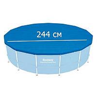 Тент для каркасного бассейна 244 см., Bestway 58301