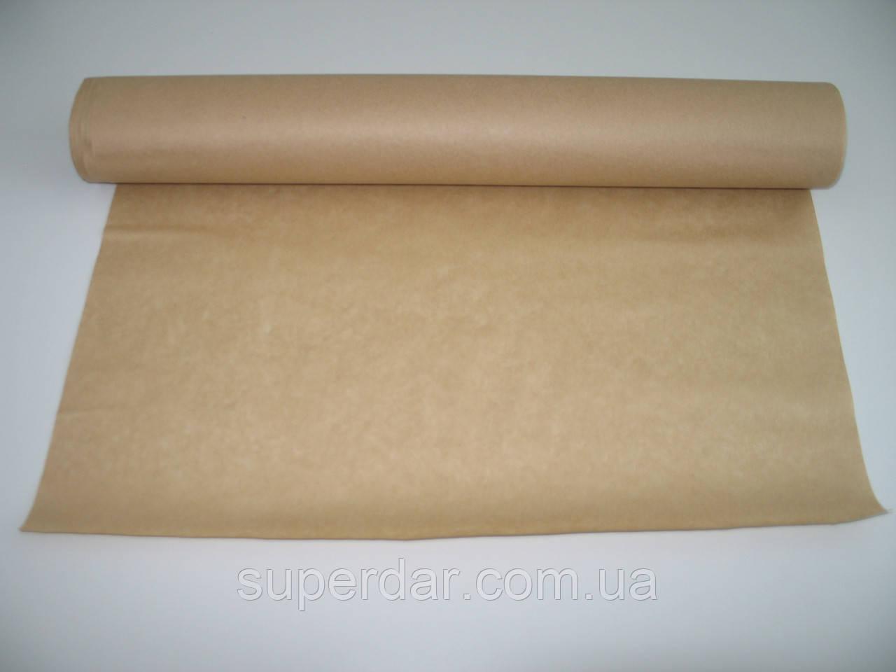 Крафт коричневый, 35 г/м, некаландрированный с добавлением макулатуры