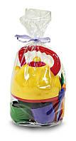 Набір посуду з чайником, 13 предм., в пакете  22*13см, ТМ Юніка, Україна (50шт)(0279)