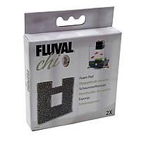Сменная губка для аквариумов Fluval Chi 19/25 л, крупнопористая, 2 шт