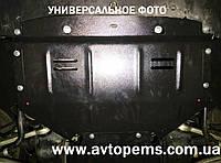 Защита картера двигателя Nissan Micra K13 закладные 2013- ТМ Титан