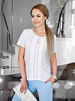 Жіноча молодіжна біла блузка Lira