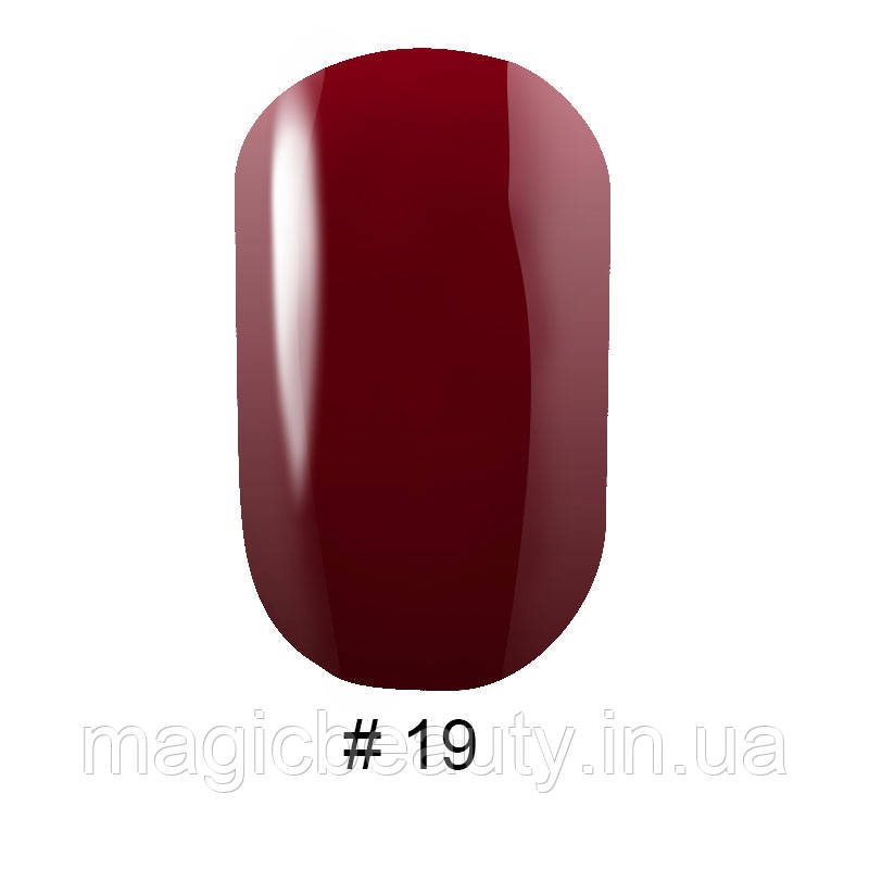 Гель-лак G. La Color №19 бордово-фіолетовий, 10 мл