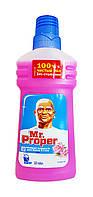 Моющая жидкость для полов и стен Mr. Proper Роза - 500 мл.
