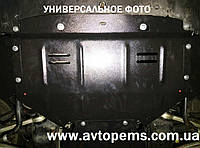 Защита картера двигателя Opel Movano с боковыми крыльями 1998-2010 ТМ Титан