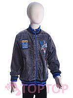 Куртка джинсовая, синяя (4-6 лет)