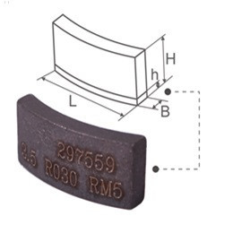 Сегмент ADTnS ADP 24x3,5x9+2 R030 RM5