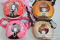 Плюшевая сумка для девочки  размер 18х15 см