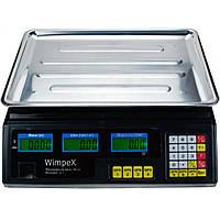 Весы торговые Wimpex 5001 WX 50 kg 6v