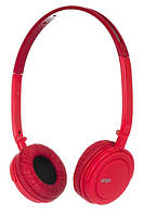 Наушники ERGO VM-330 red