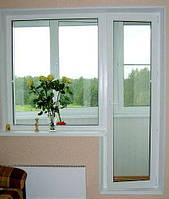 Балконный блок трёхкамерный