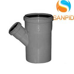 Трійник для внутрішньої каналізації Wavin 110х50/67°