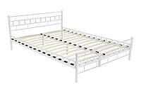 Кровать металлическая 160х200 двуспальная + Ламели АКЦИЯ ПОЛЬША в наличии НАЛОЖКА