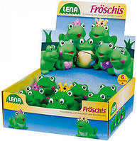Игрушки для игры с водой Лягушка LENA 65522