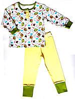 Пижама 110, желтый