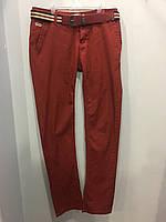 Коттоновые брюки на мальчика подростка 16 л