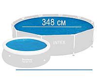 Тент для бассейна антиохлаждение 366 см.,Intex 29022