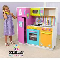 Детская деревянная кухня Kidkraft Delux Big and Bright