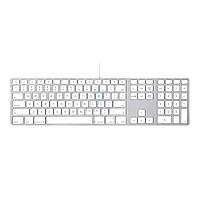 Расширенная проводная клавиатура Apple Wired Keyboard + Numeric Keypad, в оригинальной, картонной упаковке (Раскладка - US, гравировка - RU / UA)