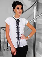 Молодіжна біла блузка Kira
