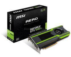 Видеокарта MSI GeForce GTX 1080 Ti AERO OC 11GB GDDR5X VR Ready